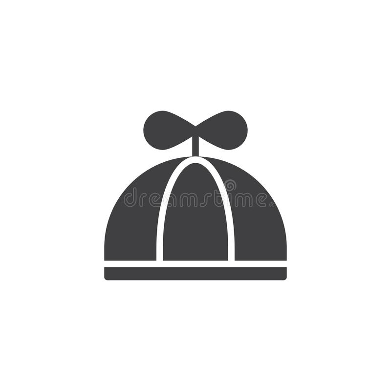 Baby hat icon vector royalty free illustration