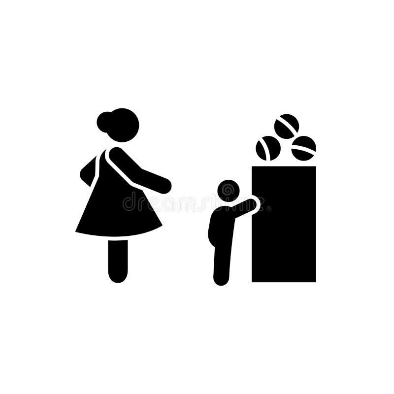 Baby, het mokken, ouderschappictogram Element van ouderpictogram Grafisch het ontwerppictogram van de premiekwaliteit Tekens en s vector illustratie