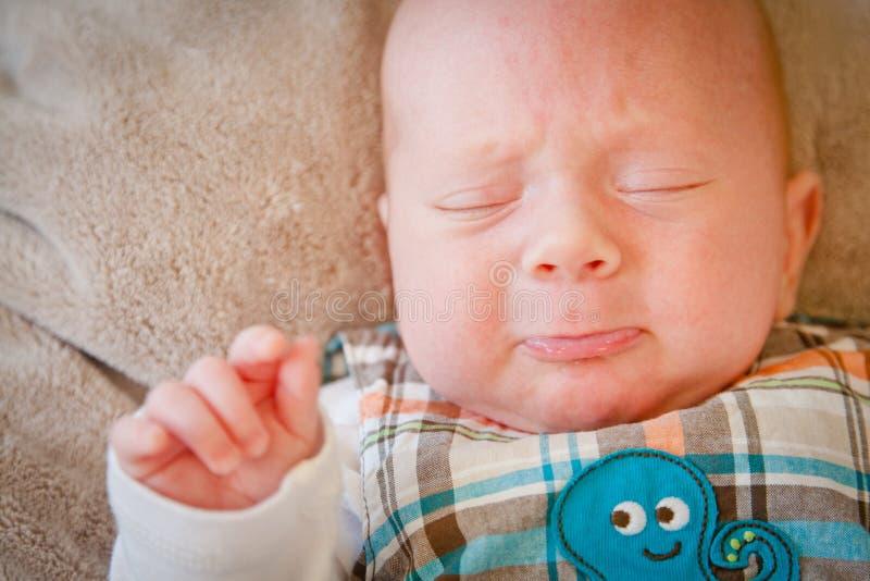 Baby het Schreeuwen stock fotografie