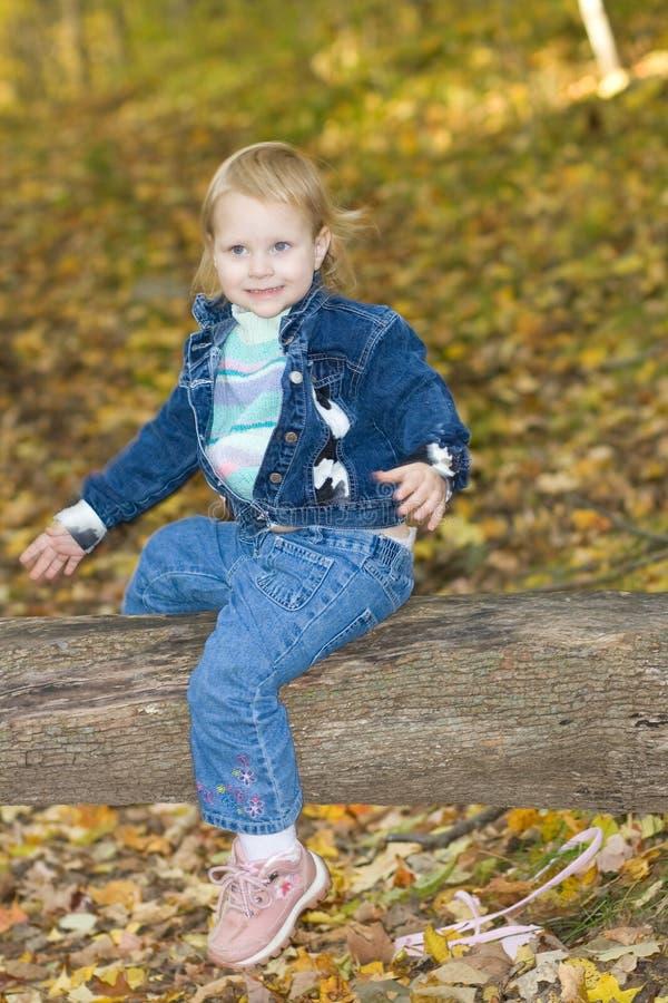 Baby hiking. royalty free stock image