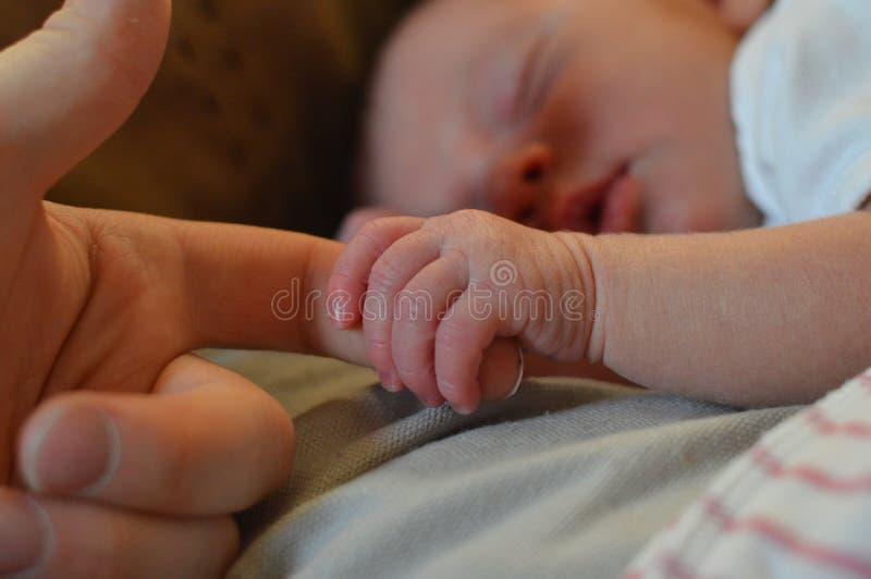 Baby Holding Human Finger Free Public Domain Cc0 Image