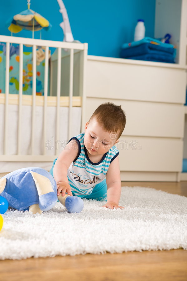 Download Baby at home stock photo. Image of boys, domestic, baby - 7763950