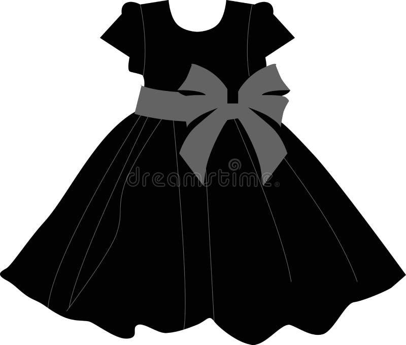 Baby Icon Dress Stock Vector Illustration Of Child Dress