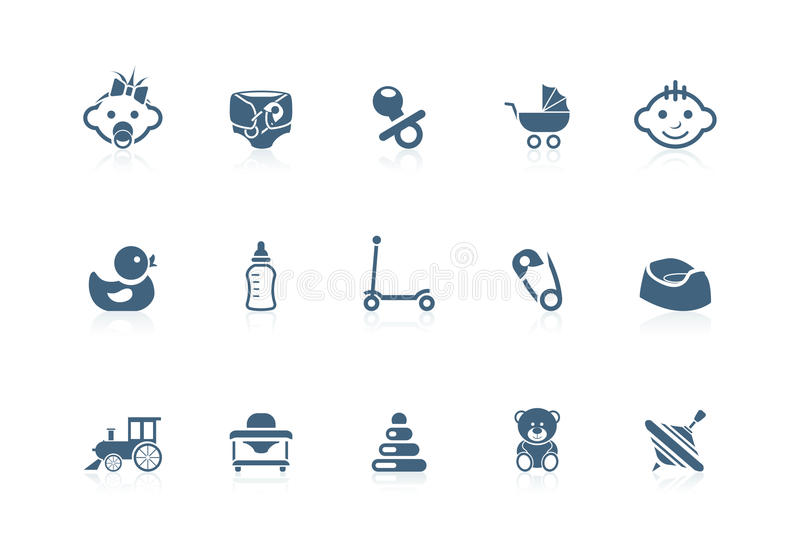 Download Baby Icons | Piccolo Series Stock Vector - Illustration: 15454713