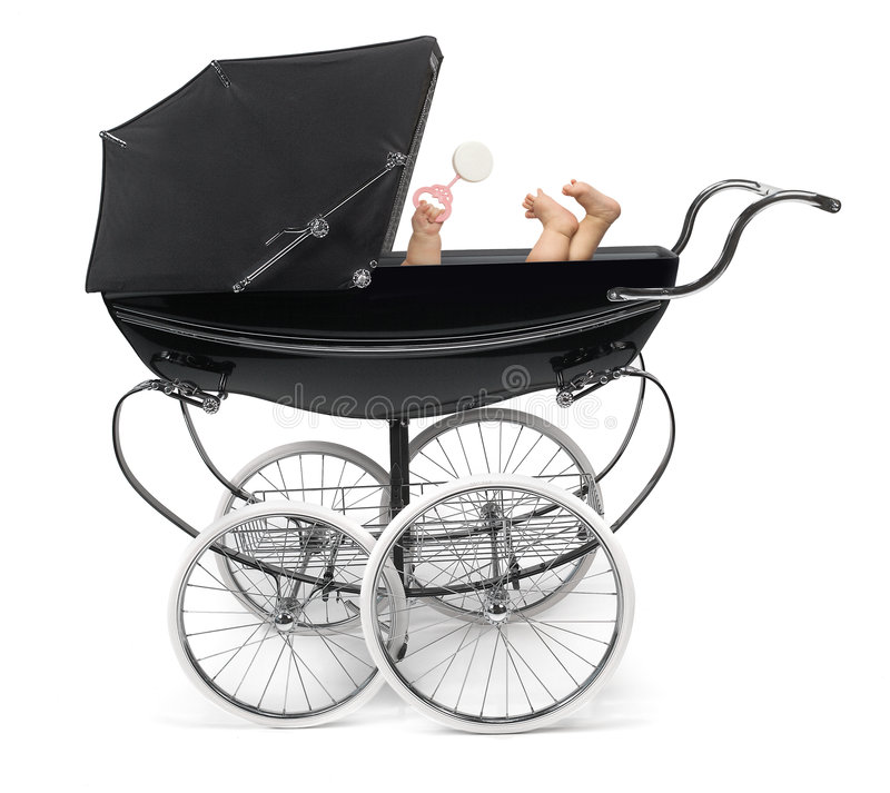 Free Baby In Stroller Stock Photos - 4619653