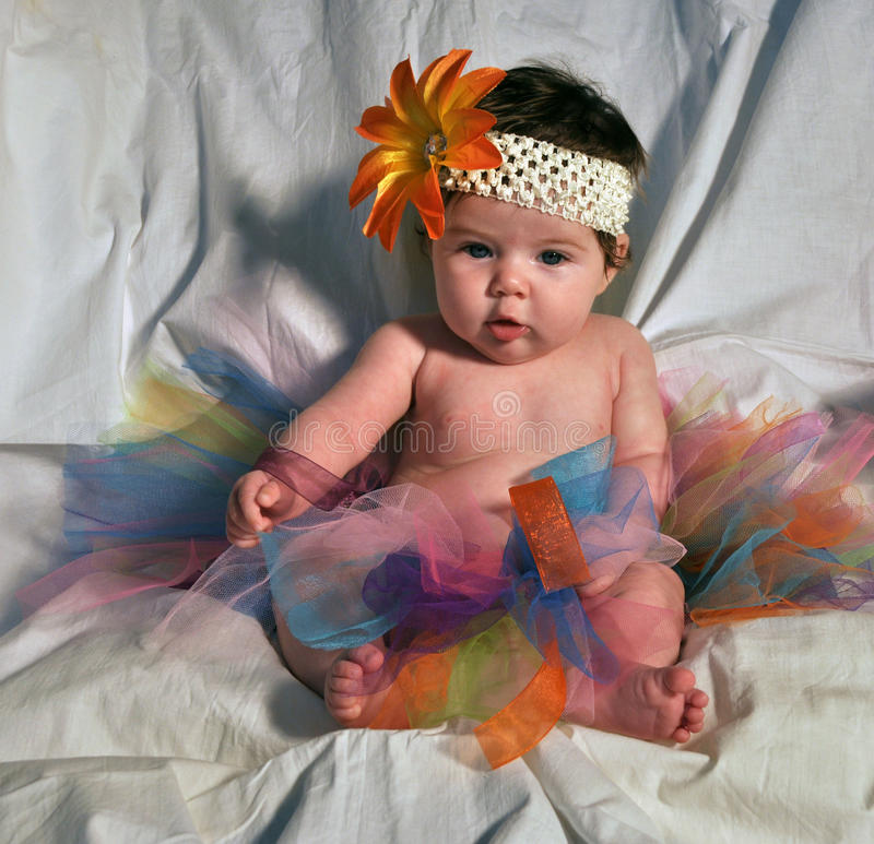 Free Baby In TuTu Stock Photography - 20573822
