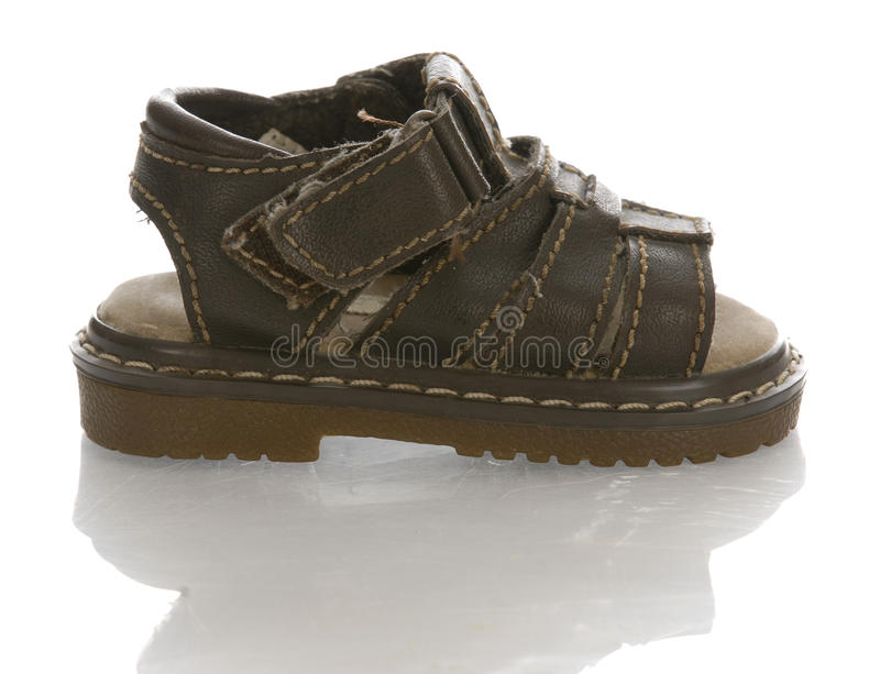 Baby Or Infant Sandal Royalty Free Stock Photos