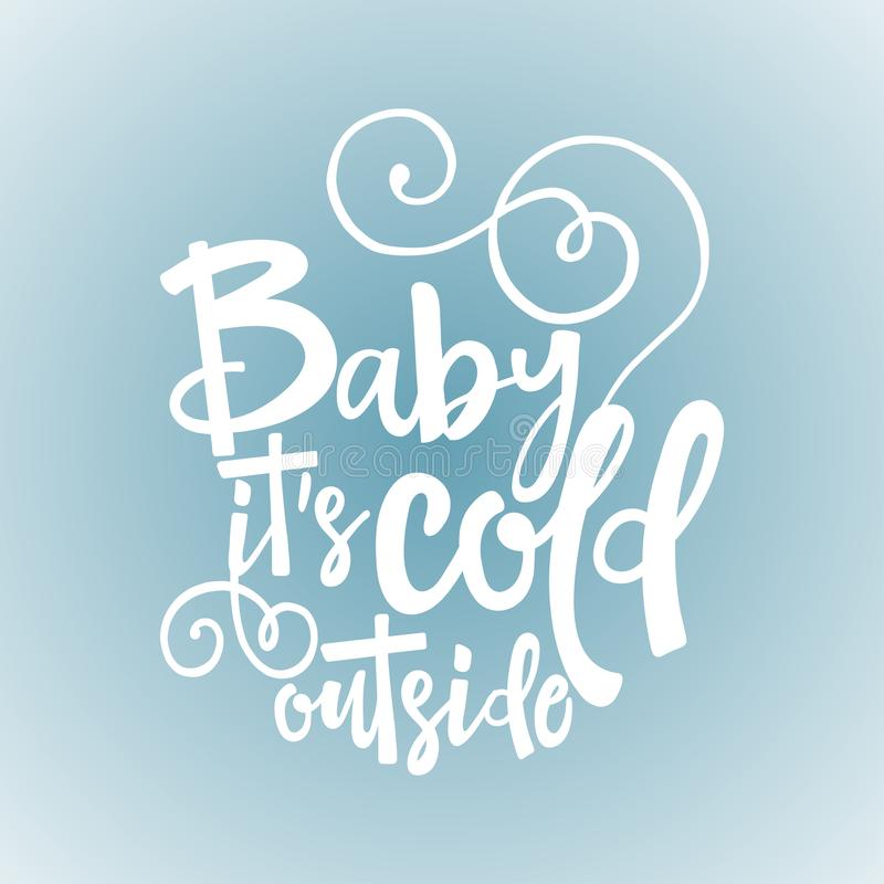 Free Baby Its Cold Outside. Stock Photo - 131409870