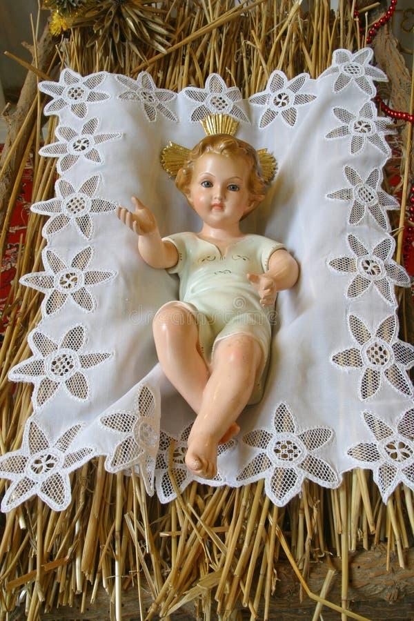 Baby Jesus stock foto's