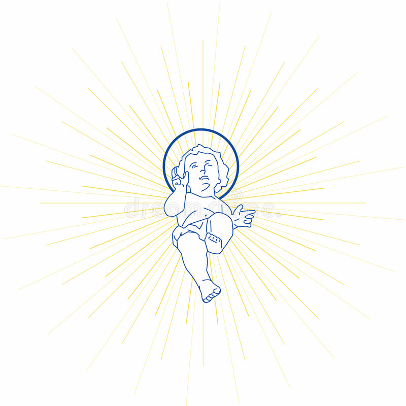 Baby Jesus royalty free stock photography