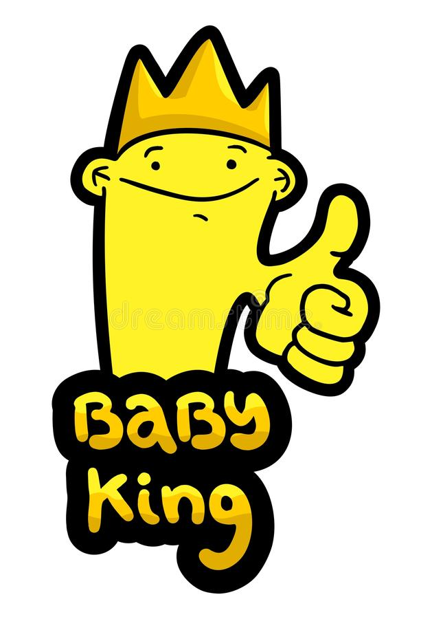 Download Baby king stock vector. Image of symbol, king, lord, child - 38452293