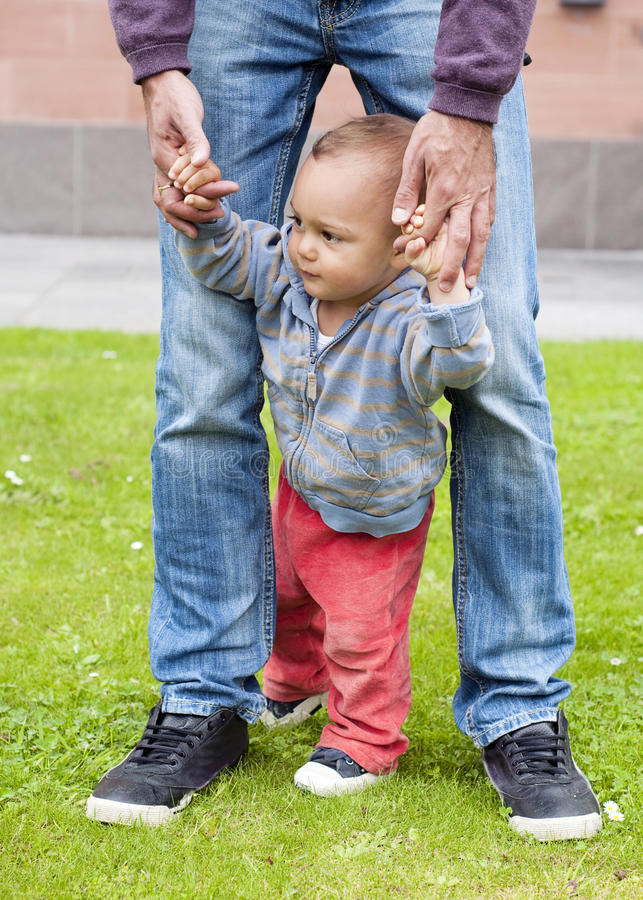 Download Baby Learning To Walk Stock Photography - Image: 25917992