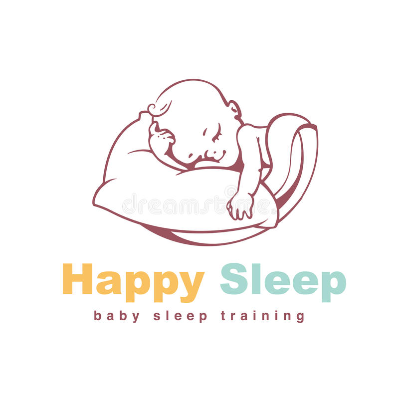 Baby Logo Template Stock Vector Illustration Of Dream