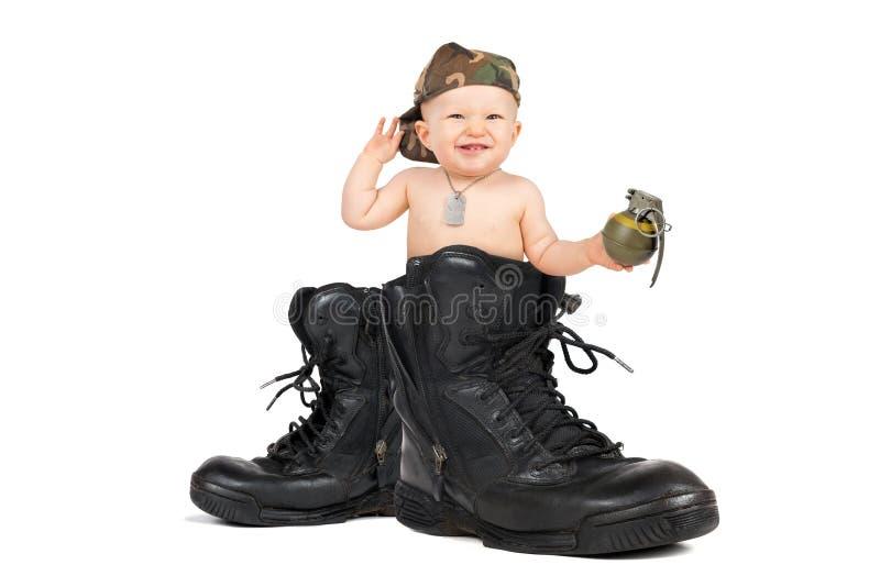 Baby Marine royalty free stock photos