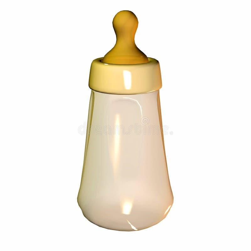 Baby Milk Bottle royalty free illustration