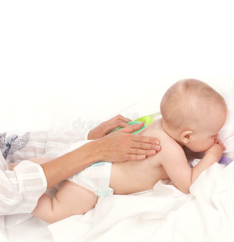 Baby-minding stock photo