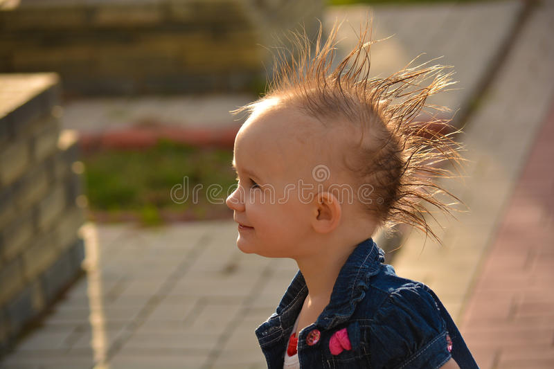 Tremendous Mohawk Hairstyle Baby Stock Photos Download 44 Royalty Free Photos Natural Hairstyles Runnerswayorg