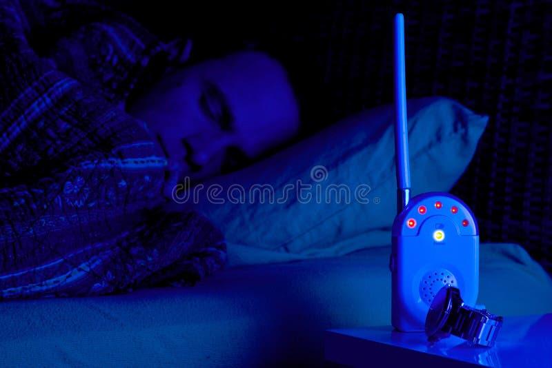 Download Baby monitor alarm stock photo. Image of sleeping, baby - 19050180
