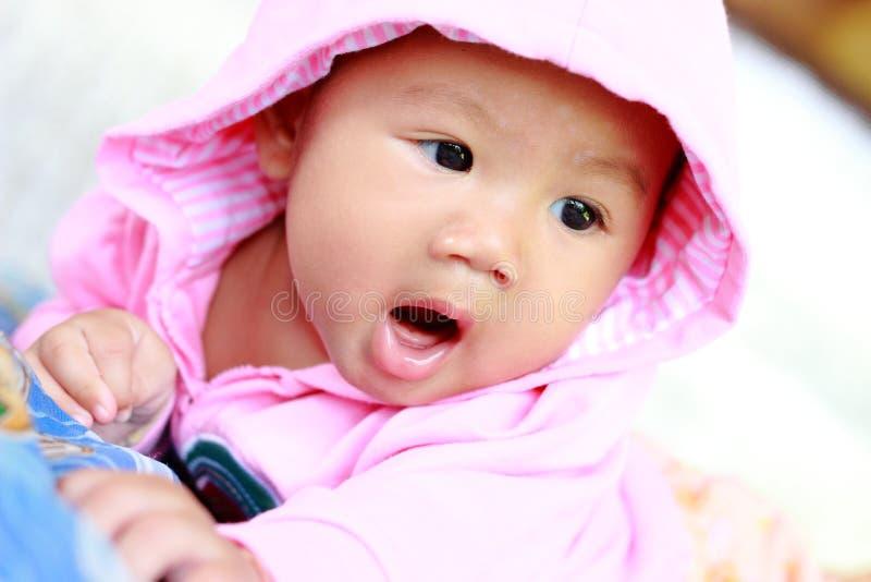 Baby-nettes Baby-Porträt stockbilder
