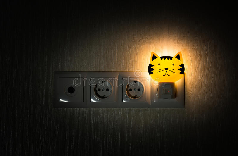 Baby night light royalty free stock photo