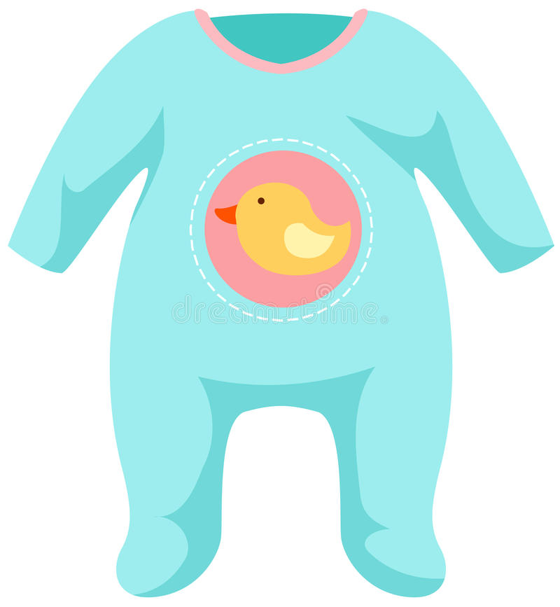 Baby Onesie Template Stock Vector Illustration Of Jumper
