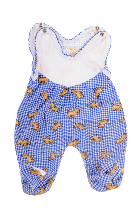 Baby outfit royalty free stock photos
