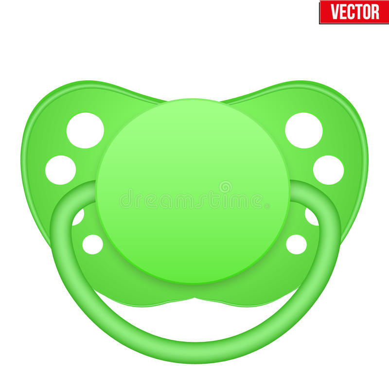 Free Baby Pacifier Vector Royalty Free Stock Photography - 82827797
