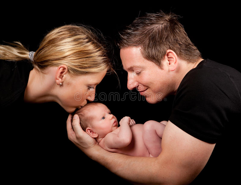 Download Baby and parents stock image. Image of cute, parents - 10896007