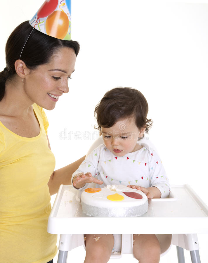 Download Baby party stock image. Image of people, childhood, food - 25425049