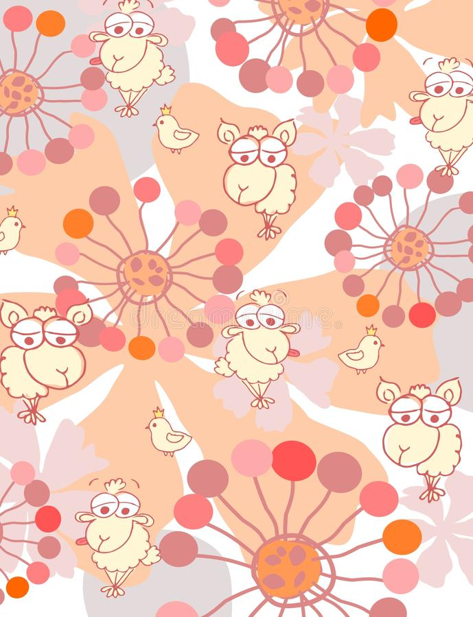 Free Baby Pattern Stock Photography - 9634432