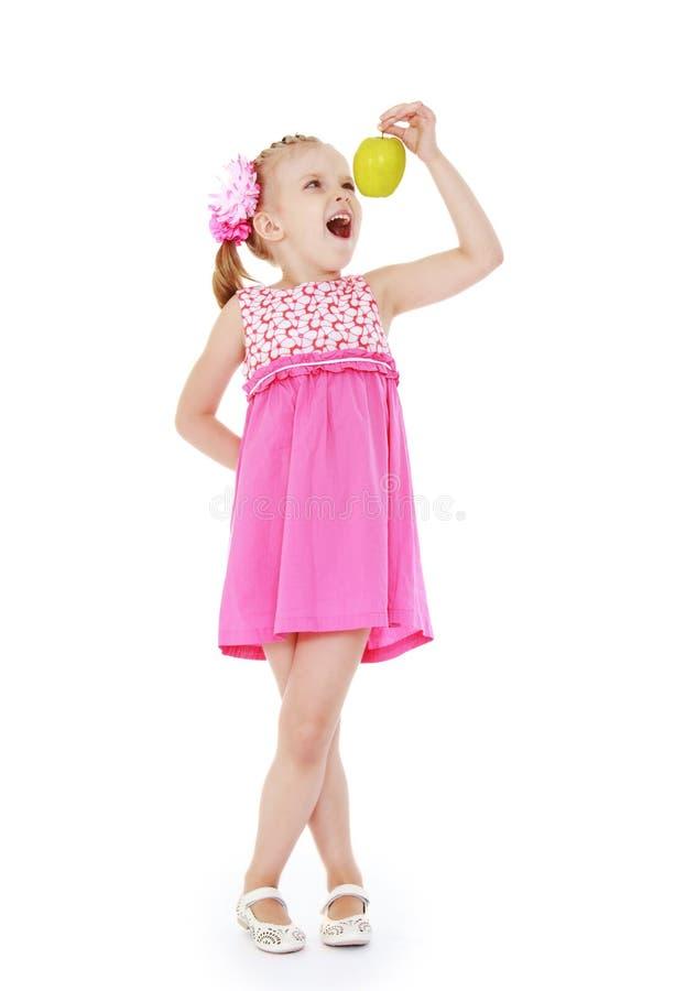 Baby photo studio. stock photography