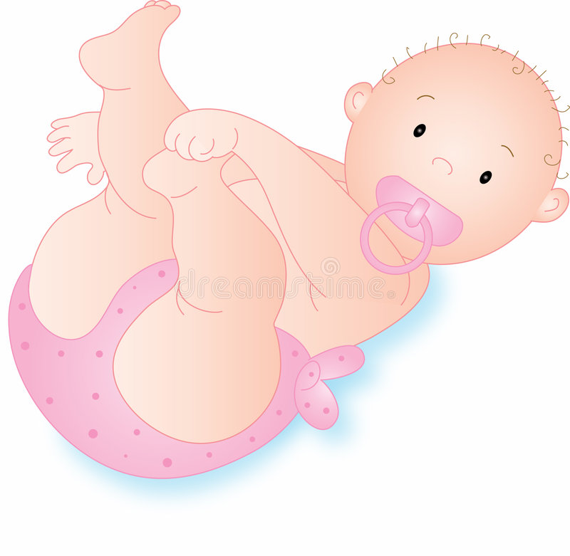 Baby pink royalty free stock image