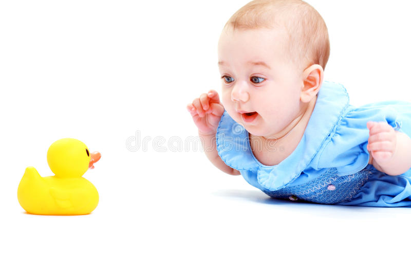 Baby Play With Toy Stock Images