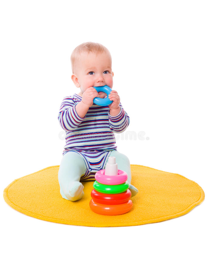 Download Baby playing stock photo. Image of passivity, body, cute - 11503016