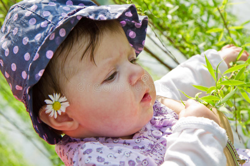 Download Baby playing stock image. Image of green, lips, close - 24032393