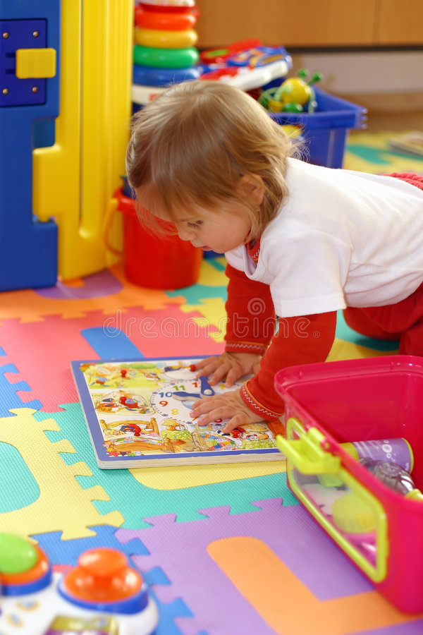 Free Baby Playing With Toys Royalty Free Stock Images - 1899089