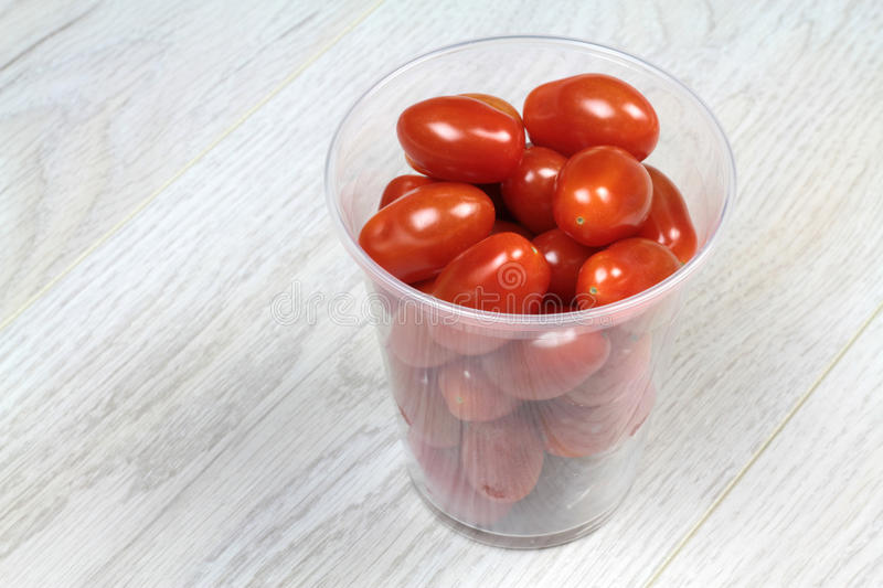 Baby plum angelle tomato royalty free stock images