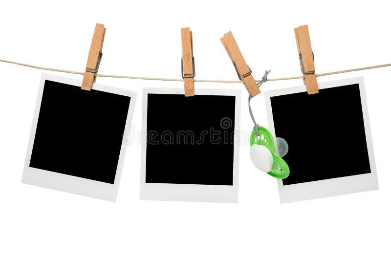 Download Baby polaroid blank frame stock image. Image of photo - 28463679