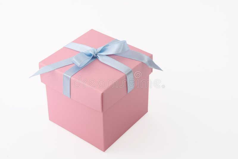 Baby present royalty free stock photography