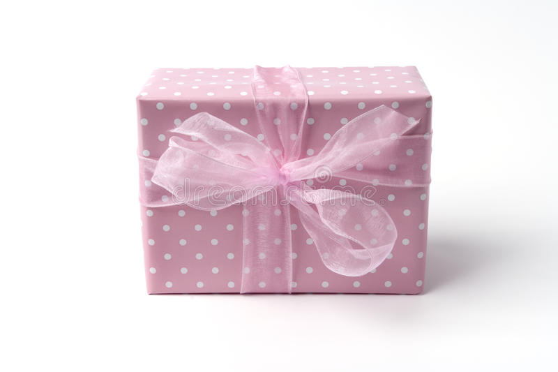 Baby Present For A Newborn Girl Royalty Free Stock Photo
