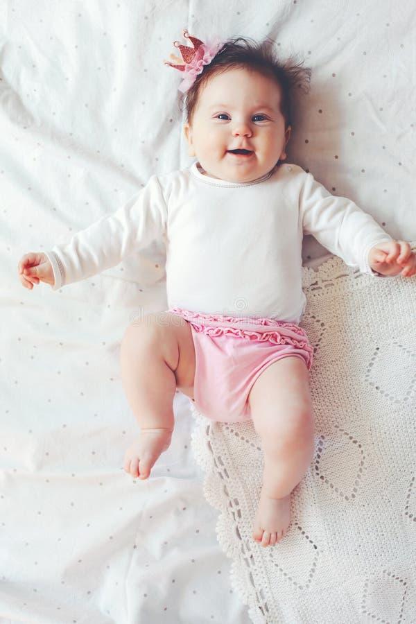 Baby princess stock photography