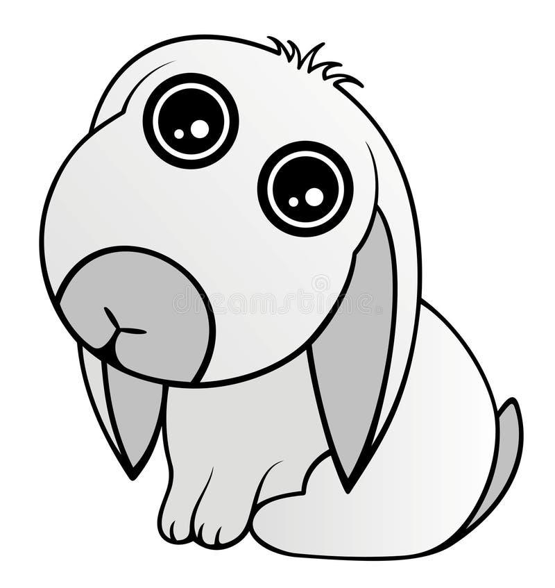Download Baby Rabbit stock vector. Image of rabbit, easter, illustration - 19092178