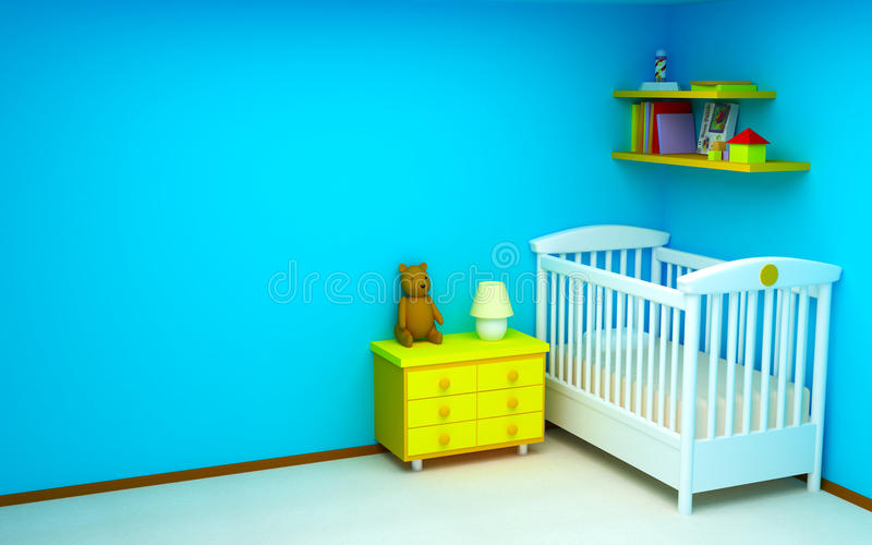 Baby room vector illustration