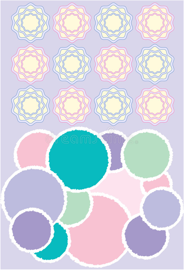 Download Baby room elements stock vector. Image of pastel, background - 2286074