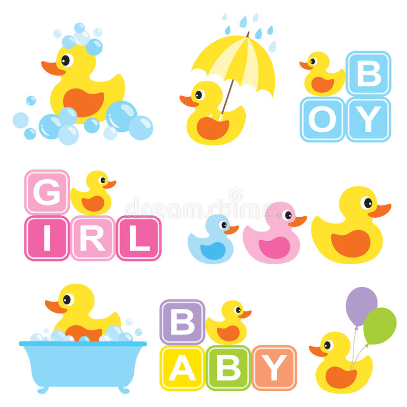 Free Baby Rubber Duck Stock Image - 59657021