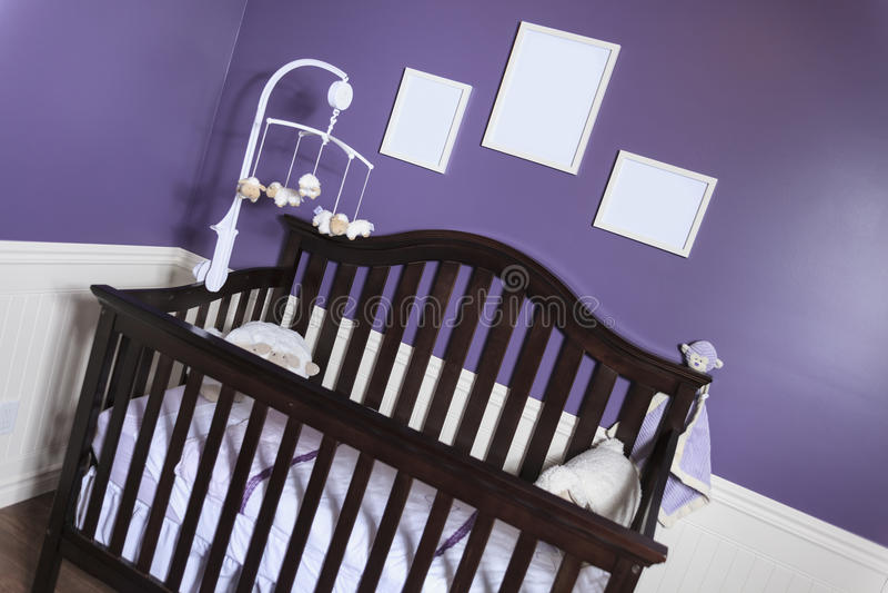 Baby's bedroom royalty free stock photos