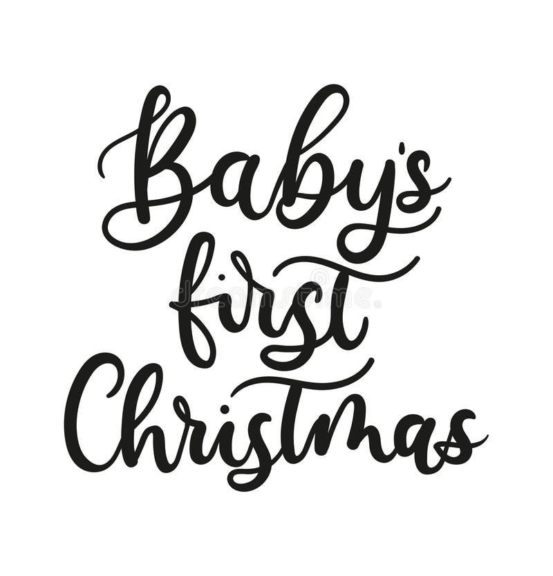 CHRISTMAS CARD BABY/'S 1ST CHRISTMAS