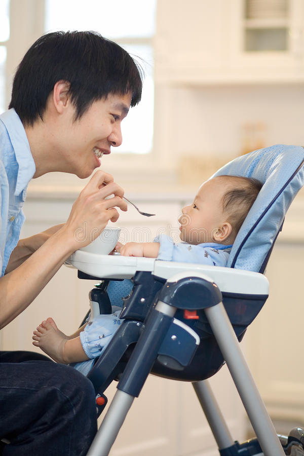 Free Baby S First Solid Food Stock Photos - 18443663