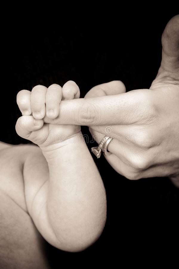 Baby S Grip Stock Photos