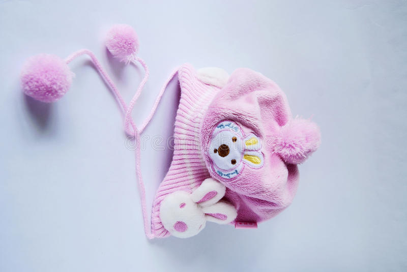 Baby's hat royalty free stock photography